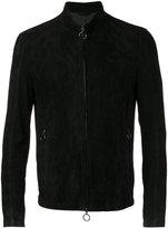 Drome zipped jacket - men - Sheep Skin/Shearling/Polyester/Viscose - L