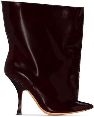 Y/Project Tubular Ankle Boots