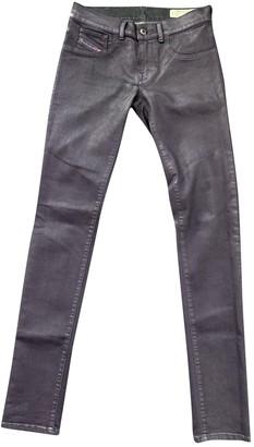 Diesel Purple Cotton Jeans for Women