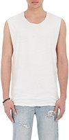 Ksubi Men's Phobia Linen-Cotton Muscle Tank-WHITE