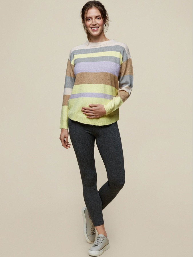 Thumbnail for your product : Dorothy Perkins Maternity 2 Pack Overbump Legging -Black