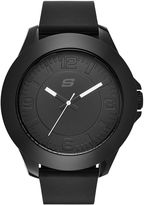 Skechers Men's Black Silicone Strap Analog Watch