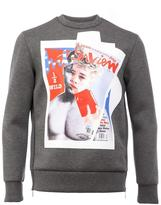 Neil Barrett cover print sweatshirt