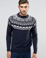 French Connection Fair Isle Holidays Sweater