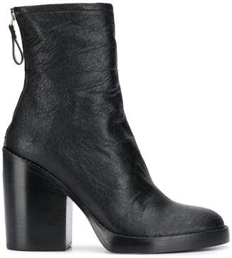 Premiata Mid-Calf Zipped Boots