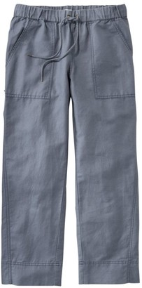 L.L. Bean Women's Signature Linen/Cotton Pull-on Camp Pants