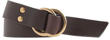 J.Crew Double O-ring chisel-point belt
