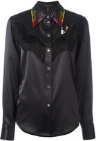 Marc Jacobs embellished Western shirt - women - Silk - 4