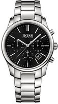 HUGO BOSS Commander 1513433 Black / Silver Stainless Steel Analog Quartz Men's Watch