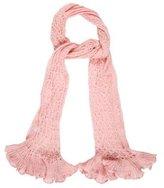 Dolce & Gabbana Ruffled Knit Scarf