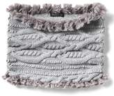 Banana Republic Chunky Mixed Stitch Snood with Faux Fur