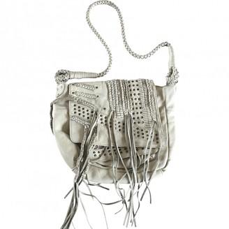 Zadig & Voltaire Ecru Leather Handbags