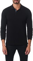 Jared Lang Long Sleeve Polo