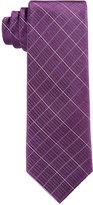 Calvin Klein Boys' Etched-Grid Tie