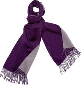 One Kings Lane Reversible Cashmere Scarf, Violet