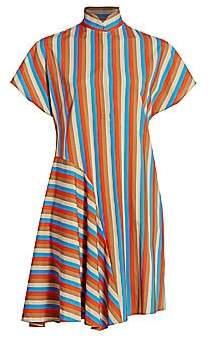 Akris Punto Women's Gazebo Stripe Shirtdress