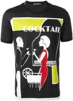 Dolce & Gabbana cocktail print T-shirt