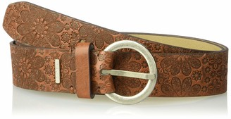 Relics by Fossil Women's Starry Snowflake Emboss Belt