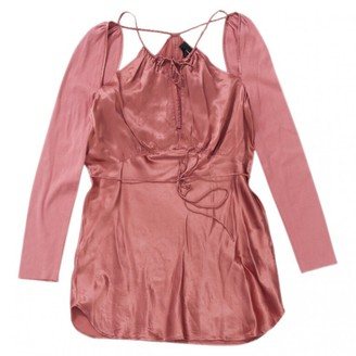 Isabel Marant Pink Silk Top for Women