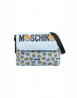 Moschino Teddy Shadow Mommy Bag Unisex Blue Size Single Size