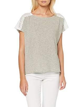 Only Women's Onlmira S/s Crochet Top JRS T-Shirt,8 (Size: X-Small)