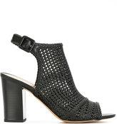 Sam Edelman Evie woven sandals - women - Leather - 38.5