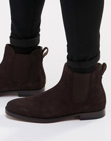 Polo Ralph Lauren Dillian Suede Chelsea Boots