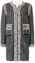 Moncler Gamme Rouge panelled coat