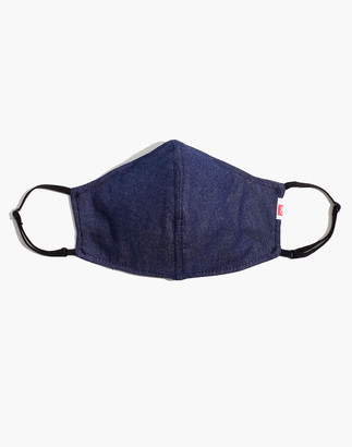 Madewell Hedley & Bennett Face Mask in Dark Blue Chambray