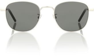 Saint Laurent New Wave SL 209 metal sunglasses