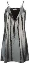 McQ by Alexander McQueen paillettes slip dress - women - Silk/Polyester - 38