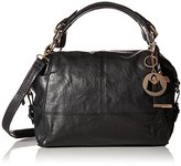 MG Collection Convertible Slouchy Convertible Top Handle Bag