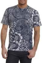 Robert Graham Batik Cotton Crewneck T-Shirt