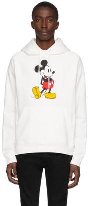TAKAHIROMIYASHITA TheSoloist. White Disney Edition Mickey Hoodie