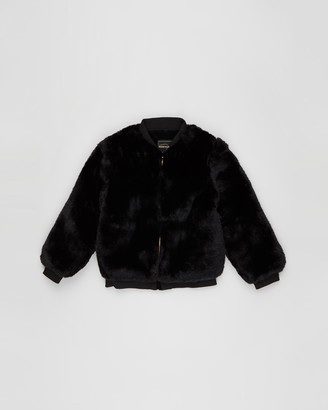Rock Your Kid Faux Fur Jacket - Kids-Teens