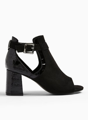 Miss Selfridge **Wide Fit Super Hivamp Sandals