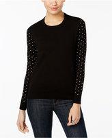 MICHAEL Michael Kors Embellished Cutout-Back Sweater