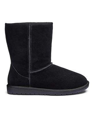 Jd Williams Suede Warm Lined Ankle Boots EEE Fit