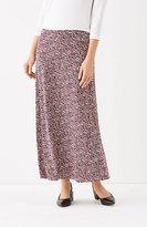 J. Jill Wearever A-Line Skirt