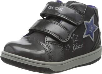 Geox Baby Girls' B New Flick C Low-Top Sneakers