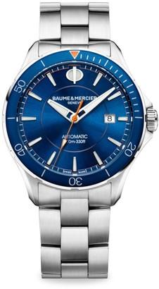 Baume & Mercier Clifton Club Stainless Steel Bracelet Watch