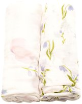 Little Unicorn Deluxe Muslin Swaddle Blankets - Pink Peony - 2 ct