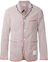 Thom Browne striped blazer - men - Polyamide/Polyester/Spandex/Elastane - II