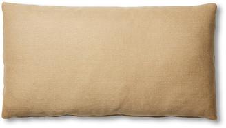 One Kings Lane Ada Long Lumbar Pillow - Hemp Linen - 12x23