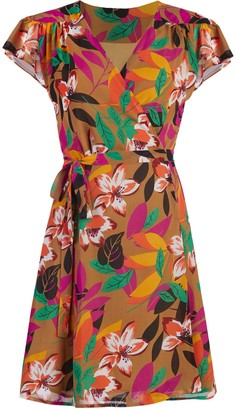 New York & Co. Allison Wrap Dress - Eva Mendes Collection