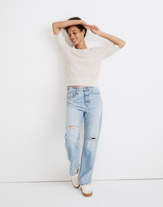 Madewell The Dadjean in Millman Wash: Ripped Edition
