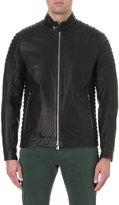 Corneliani Quilted Leather Jacket