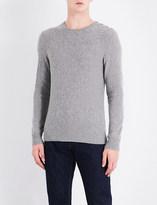 Ralph Lauren Purple Label Button-detailed cashmere jumper