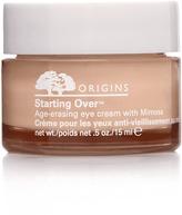 Origins Starting OverAge-erasing Eye Cream with Mimosa