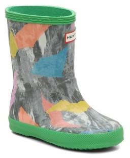 Hunter First Storm Camo Rain Boot - Kids'